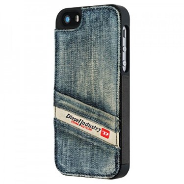 Capac protector Diesel Pluton Pocket pt iPhone 5s blue