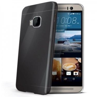 Capac protector Celly Gelskin479bk pt HTC One M9 black