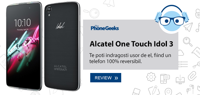 Review Sony Alcatel One Touch Idel