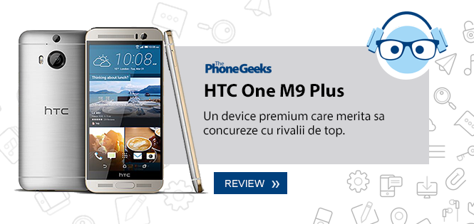 Review HTC One M9+
