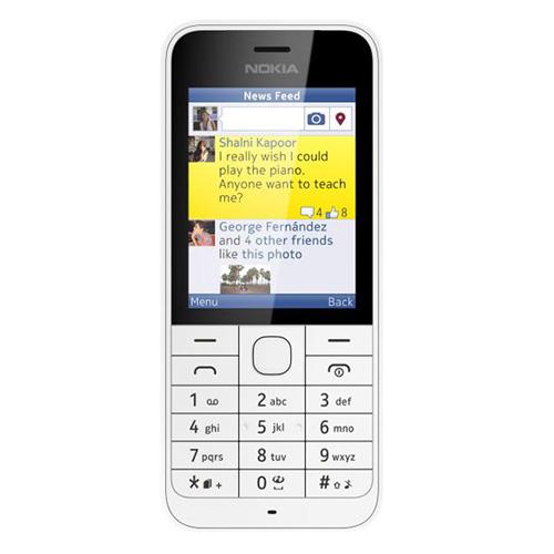 Telefon mobil Nokia 220 Dual SIM white