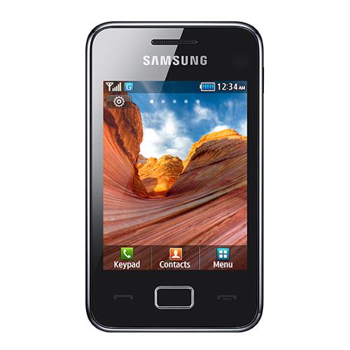 Imagine indisponibila pentru Telefon mobil Samsung Star 3 S5220 black Resigilat