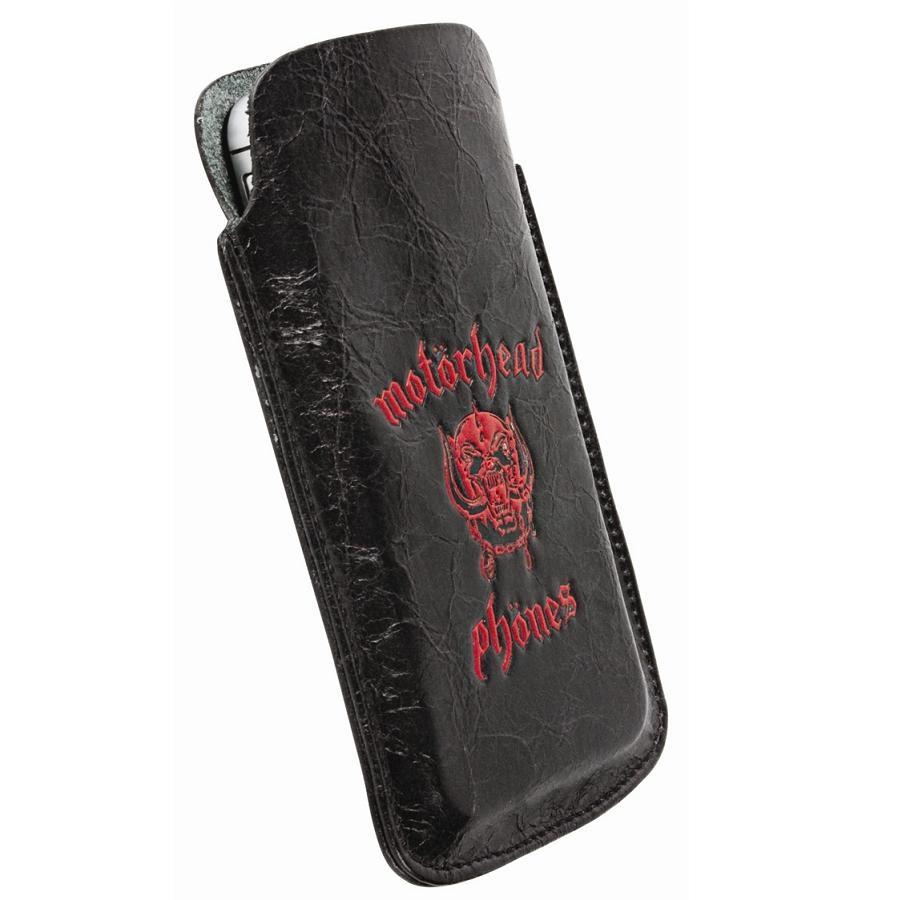 Toc piele Motorhead 95377 Burner XXL black/red