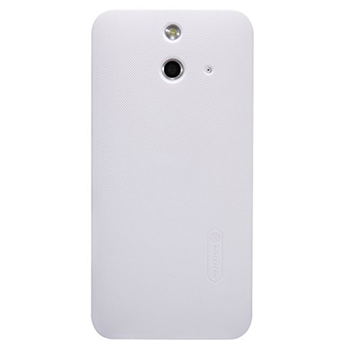 Capac protector Nillkin Frosted Shield white si folie pt HTC ONE E8
