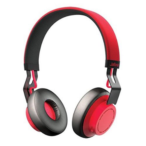 Casti Stereo Bluetooth Jabra Move Wireless cayenne red
