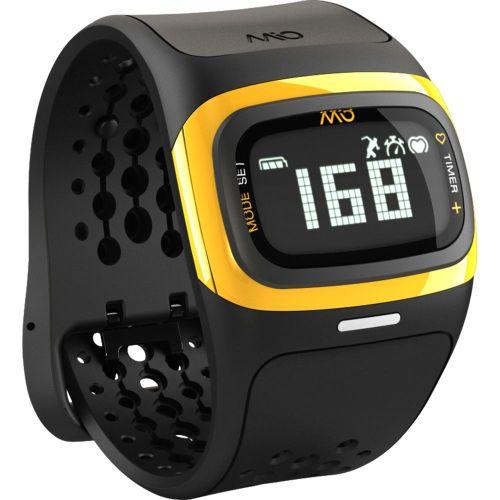 Bratara MIO Alpha 2 heart rate yellow