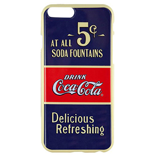 Capac protector Coca-Cola Old 5 Cents pt iPhone 6