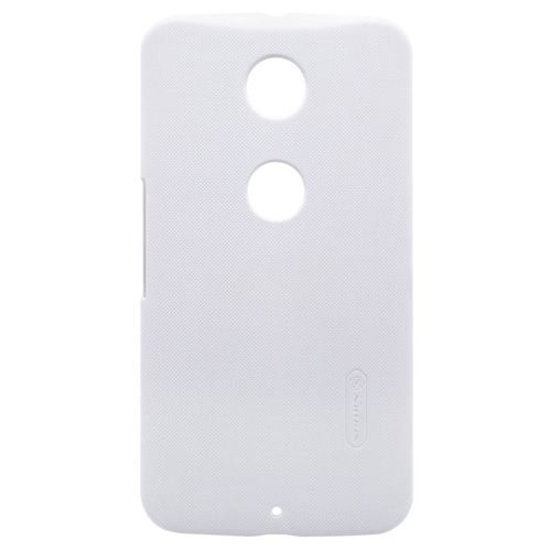 Capac protector Nillkin Frosted Shield white si folie pt Nexus 6