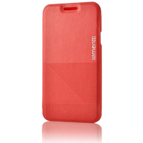 Husa Lemontti Book Jelly Linea red pt Samsung A300 Galaxy A3
