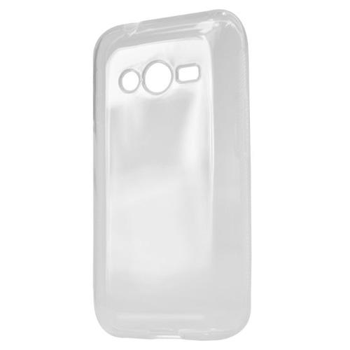 Capac protector Lemontti silicon transparent si folie pt Samsung G318 Galaxy Trend 2 Lite