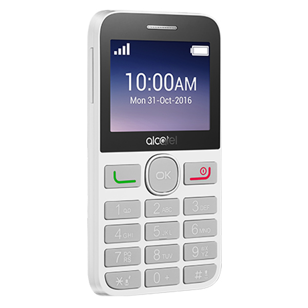 alcatel ot-2008 black pure white