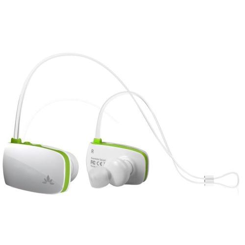 Casti stereo Bluetooth Avantree Sacool green/white