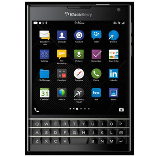 Imagine indisponibila pentru Telefon mobil BlackBerry Passport LTE 32GB black Resigilat