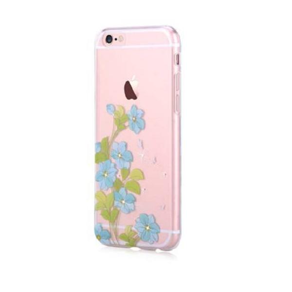 Capac protector Devia silicon Crystal Swarovski pt Apple iPhone 6/6S