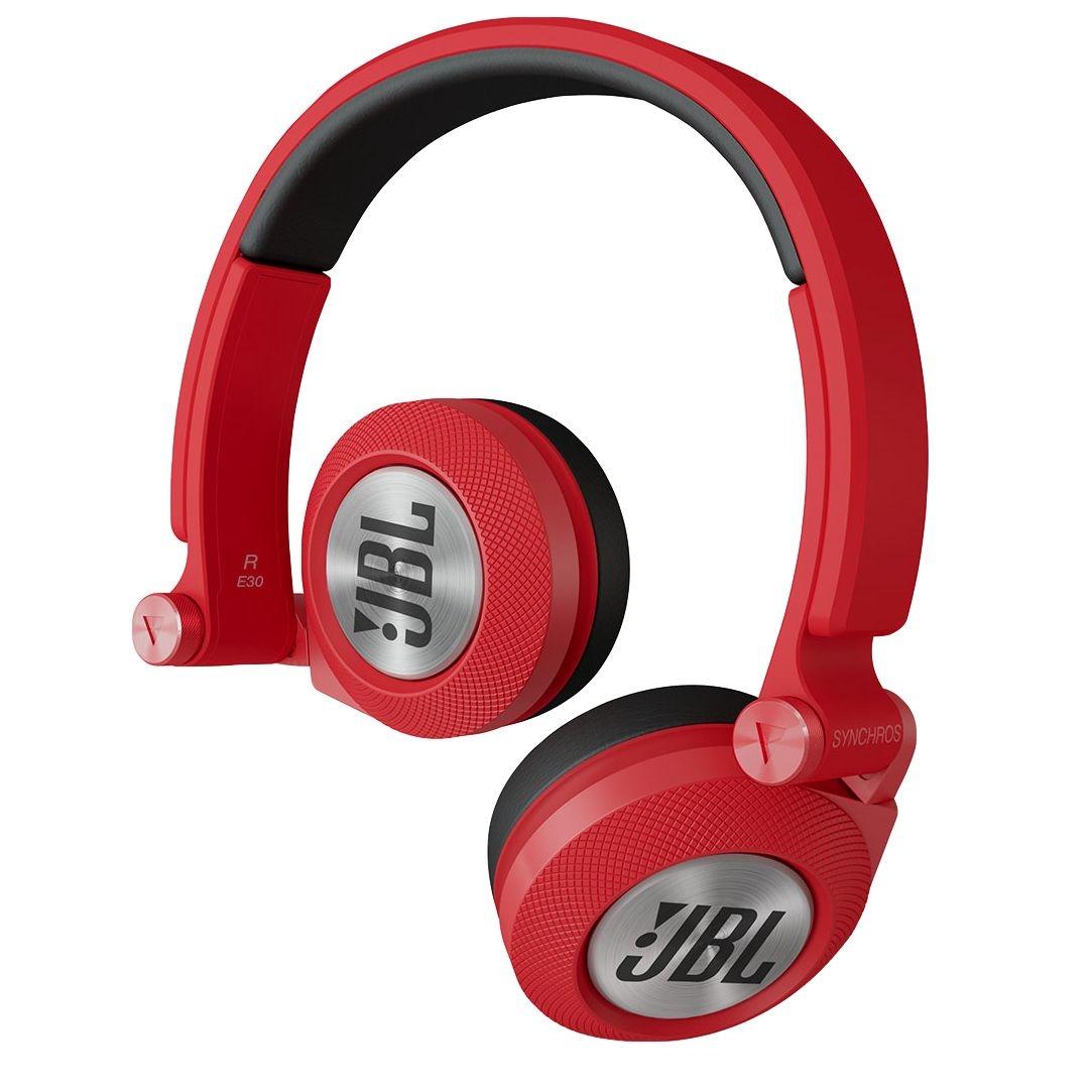 Casti JBL E30 Syncrhos cu fir si microfon red