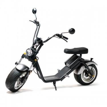 Moped Electric FreeWheel MotoRo S1, grey