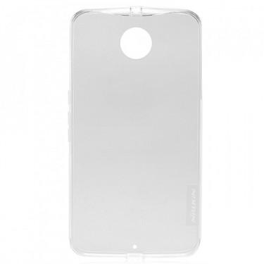 Capac protector Nillkin Nature silicon pt Nexus 6 transparent