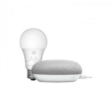 Kit Google Home Mini + Google GE C-Life Smart Bulb