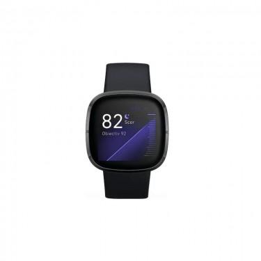 Smartwatch Fitbit Sense, carbon graphite