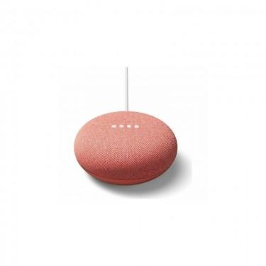 Boxa inteligenta Google Nest Mini Smart Home (2nd gen), coral