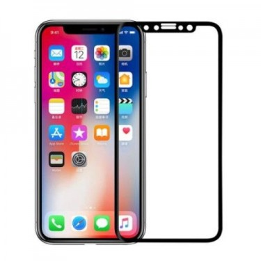 Folie protectie ecran Nillkin Tempered Glass 3D CP+ Max black pt Apple iPhone X