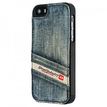 Capac protector Diesel Pluton Pocket pt iPhone 5s blue