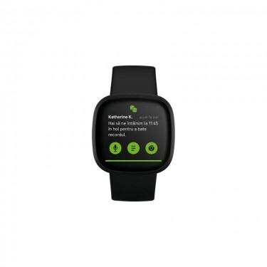 Smartwatch Fitbit Versa 3, black