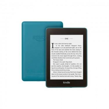 Amazon eBook Reader Kindle Paperwhite 2018 10th Generation 6, 300 ppi, Rezistent la apa, 8GB, twilight blue