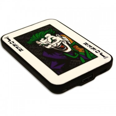 Baterie externa Licensed Batman, The Joker Vintage, 5000 mAh Black