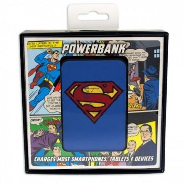 Baterie externa Licensed Superman Vintage, 5000 mAh, Blue
