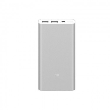 Baterie Externa Xiaomi Mi 2s Quick Charge 10000 mAh, silver