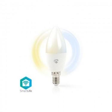 Bec WiFi Smart Nedis LED Bulb  Warm to Cool White  E14