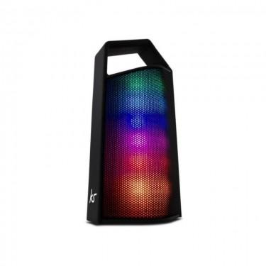 Boxa portabila cu bluetooth KitSound DanceFloor , show lumini, maner transport