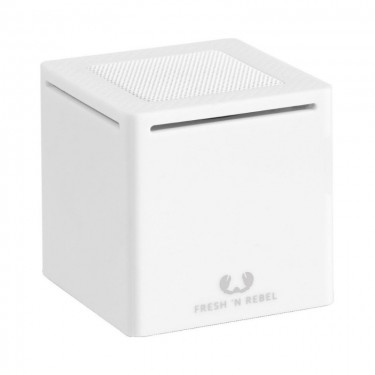 Boxa portabilla Bluetooth Fresh'n Rebel Rockbox Cube, white