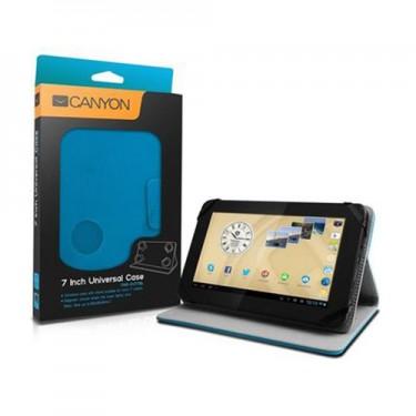 "Husa Canyon book si stand CNS-CUT7BL blue pt tablete 7"""