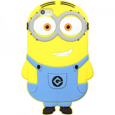Husa protectie spate Despicable Me Dave Minion pt Apple iPhone 5S
