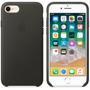 Husa protectie spate Apple charcoal gray pt iPhone 8/7