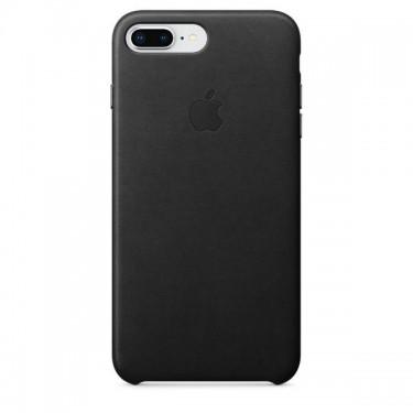 Husa protectie spate Apple piele black pt iPhone 8/7 Plus