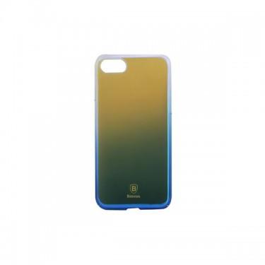 Husa protectie spate Baseus Glaze pt iPhone 7/8/SE (2020), blue