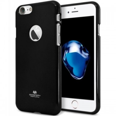 Husa protectie spate Goospery silicon jelly black pt iPhone 7
