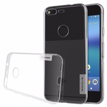 Capac protector Nillkin nature silicon transparent pt Google Pixel