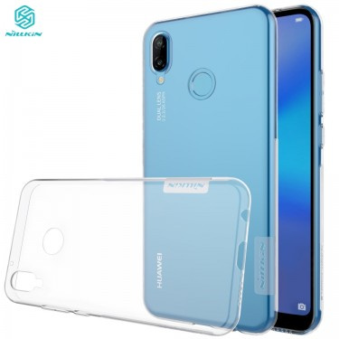 Capac protector Nillkin Nature silicon transparent pt Huawei P20