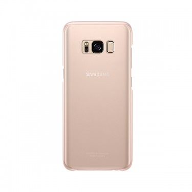 Capac protector Samsung Clear Cover EF-QG955CPEGWW pt G955 Galaxy S8+ Pink