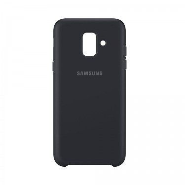Capac protector Samsung dual layer cover black pt  Galaxy A6 (2018) A600
