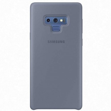 Capac protector Samsung silicone cover blue pt Samsung Galaxy Note 9