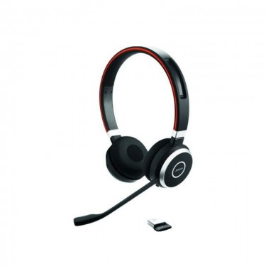 Casti Bluetooth Jabra Evolve 65 UC cu adaptor Link 370, black