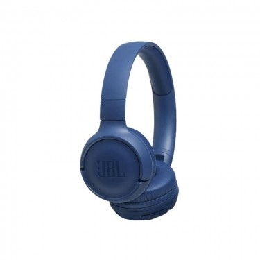 Casti Bluetooth on-ear JBL Tune500BT, 16 h, Pure Bass Sound, Hands-free Call, blue