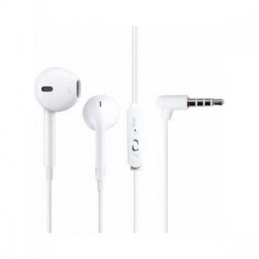 Casti cu fir & microfon Golf M1, white