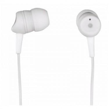 Casti cu fir si microfon Hama Basic 3050, white