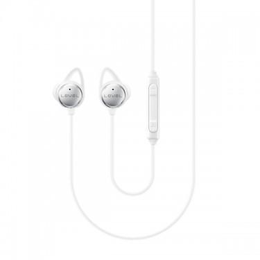 Casti cu fir si microfon white Samsung stereo